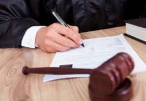 Участие в судебных заседаниях суда первой инстанции